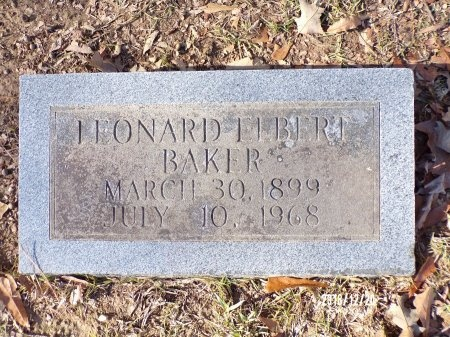 BAKER, LEONARD ELBERT - Dallas County, Arkansas | LEONARD ELBERT BAKER - Arkansas Gravestone Photos