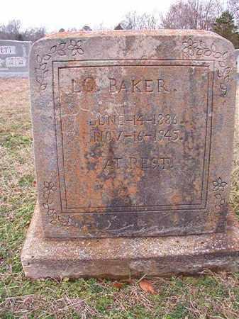 BAKER, L C - Dallas County, Arkansas | L C BAKER - Arkansas Gravestone Photos