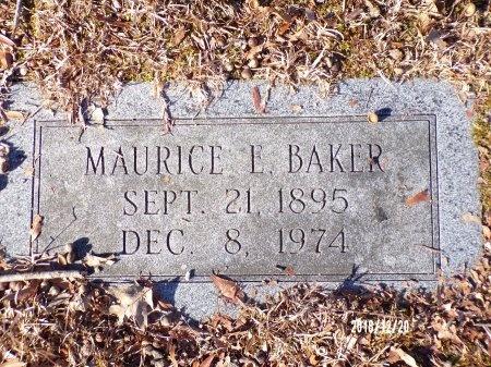 BAKER, MAURICE E - Dallas County, Arkansas | MAURICE E BAKER - Arkansas Gravestone Photos