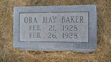 BAKER, ORA MAY - Dallas County, Arkansas | ORA MAY BAKER - Arkansas Gravestone Photos