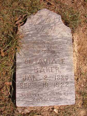 BAKER, OCTAVIA E - Dallas County, Arkansas | OCTAVIA E BAKER - Arkansas Gravestone Photos