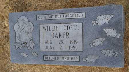 BAKER, WILLIE ODELL - Dallas County, Arkansas   WILLIE ODELL BAKER - Arkansas Gravestone Photos