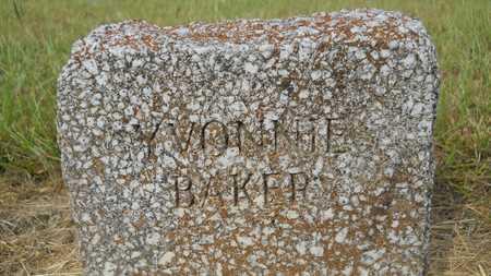 BAKER, YVONNIE - Dallas County, Arkansas | YVONNIE BAKER - Arkansas Gravestone Photos