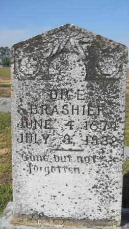 BRASHIER, DICE - Dallas County, Arkansas   DICE BRASHIER - Arkansas Gravestone Photos