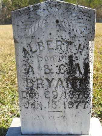 BRYANT, ALBERT H - Dallas County, Arkansas   ALBERT H BRYANT - Arkansas Gravestone Photos
