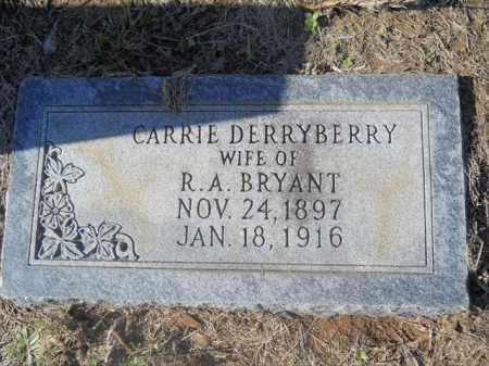 BRYANT, CARRIE - Dallas County, Arkansas | CARRIE BRYANT - Arkansas Gravestone Photos