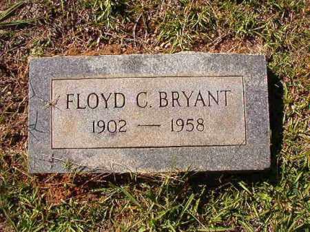 BRYANT, FLOYD C - Dallas County, Arkansas | FLOYD C BRYANT - Arkansas Gravestone Photos