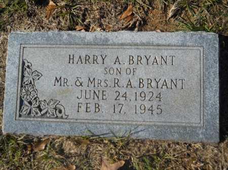 BRYANT, HARRY A - Dallas County, Arkansas   HARRY A BRYANT - Arkansas Gravestone Photos