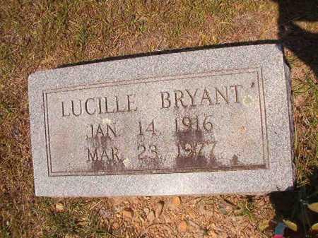 BRYANT, LUCILLE - Dallas County, Arkansas | LUCILLE BRYANT - Arkansas Gravestone Photos