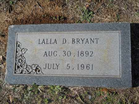 BRYANT, LALLA D - Dallas County, Arkansas | LALLA D BRYANT - Arkansas Gravestone Photos