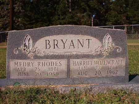 BRYANT, MEDRY RHODES - Dallas County, Arkansas | MEDRY RHODES BRYANT - Arkansas Gravestone Photos