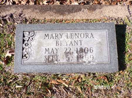 BRYANT, MARY LENORA - Dallas County, Arkansas | MARY LENORA BRYANT - Arkansas Gravestone Photos