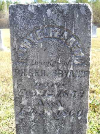 BRYANT, MARY ELIZABETH - Dallas County, Arkansas | MARY ELIZABETH BRYANT - Arkansas Gravestone Photos