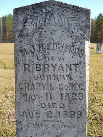 BRYANT, M J H - Dallas County, Arkansas | M J H BRYANT - Arkansas Gravestone Photos