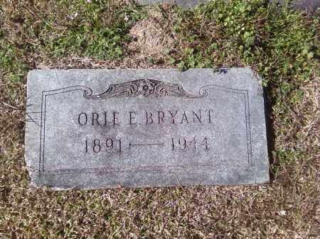 BRYANT, ORIE E - Dallas County, Arkansas | ORIE E BRYANT - Arkansas Gravestone Photos