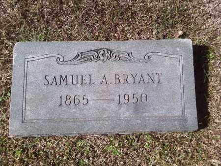 BRYANT, SAMUEL A - Dallas County, Arkansas | SAMUEL A BRYANT - Arkansas Gravestone Photos