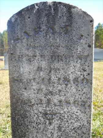 BRYANT, SARAH F - Dallas County, Arkansas | SARAH F BRYANT - Arkansas Gravestone Photos