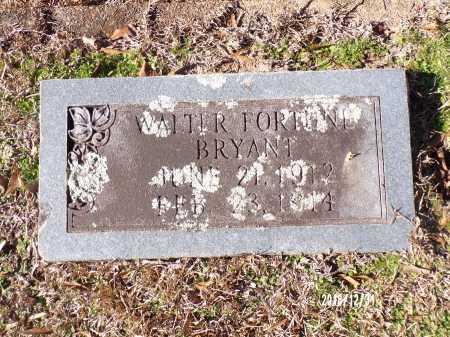 BRYANT, WALTER FORTUNE - Dallas County, Arkansas | WALTER FORTUNE BRYANT - Arkansas Gravestone Photos