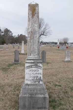 """BUTLER, ALEXANDER """"ALEX"""" - Dallas County, Arkansas   ALEXANDER """"ALEX"""" BUTLER - Arkansas Gravestone Photos"""