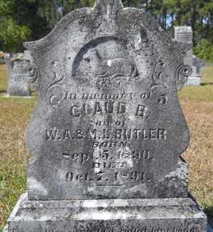 BUTLER, CLAUD B - Dallas County, Arkansas | CLAUD B BUTLER - Arkansas Gravestone Photos