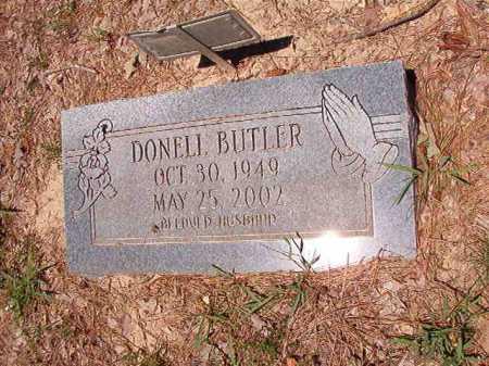 BUTLER, DONELL - Dallas County, Arkansas | DONELL BUTLER - Arkansas Gravestone Photos