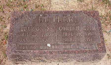 BUTLER, COREAN - Dallas County, Arkansas | COREAN BUTLER - Arkansas Gravestone Photos
