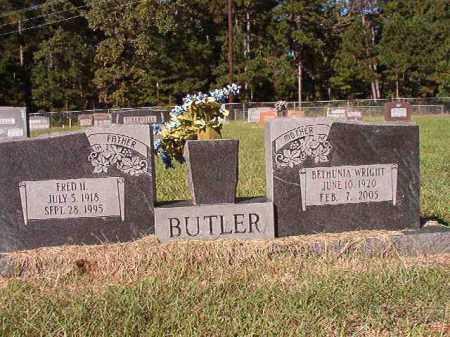 BUTLER, FRED HARTMAN - Dallas County, Arkansas | FRED HARTMAN BUTLER - Arkansas Gravestone Photos