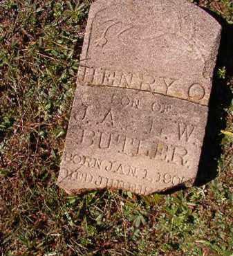 BUTLER, HENRY O - Dallas County, Arkansas | HENRY O BUTLER - Arkansas Gravestone Photos