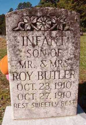 BUTLER, INFANT SON - Dallas County, Arkansas | INFANT SON BUTLER - Arkansas Gravestone Photos