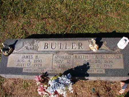 BUTLER, JAMES H - Dallas County, Arkansas | JAMES H BUTLER - Arkansas Gravestone Photos