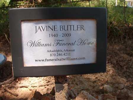 BUTLER, JAVINE - Dallas County, Arkansas | JAVINE BUTLER - Arkansas Gravestone Photos