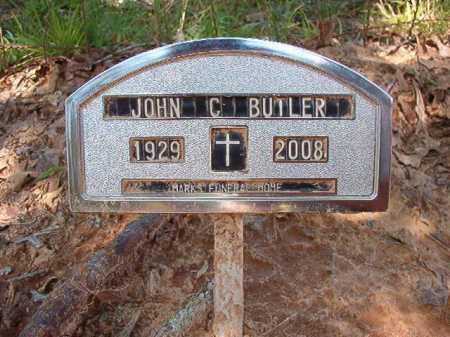 BUTLER, JOHN C - Dallas County, Arkansas | JOHN C BUTLER - Arkansas Gravestone Photos