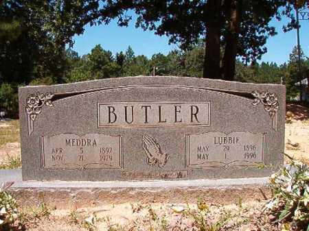 BUTLER, LUBBIE - Dallas County, Arkansas | LUBBIE BUTLER - Arkansas Gravestone Photos