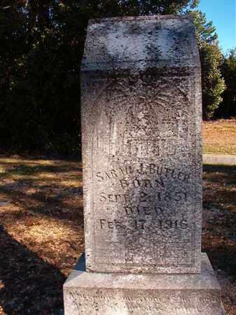 BUTLER, SARAH J - Dallas County, Arkansas | SARAH J BUTLER - Arkansas Gravestone Photos