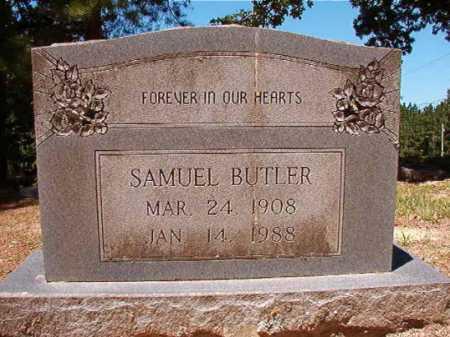 BUTLER, SAMUEL - Dallas County, Arkansas | SAMUEL BUTLER - Arkansas Gravestone Photos
