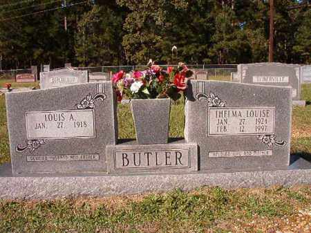BUTLER, THELMA LOUISE - Dallas County, Arkansas | THELMA LOUISE BUTLER - Arkansas Gravestone Photos
