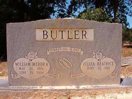 BUTLER, WILLIAM MEDDRA - Dallas County, Arkansas   WILLIAM MEDDRA BUTLER - Arkansas Gravestone Photos