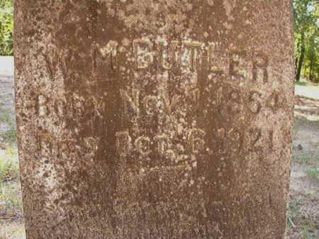 BUTLER, W M - Dallas County, Arkansas | W M BUTLER - Arkansas Gravestone Photos