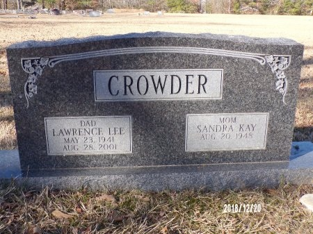 CROWDER, LAWRENCE LEE - Dallas County, Arkansas | LAWRENCE LEE CROWDER - Arkansas Gravestone Photos