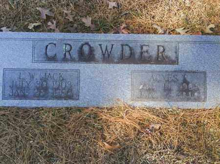 CROWDER, AGNES I - Dallas County, Arkansas | AGNES I CROWDER - Arkansas Gravestone Photos