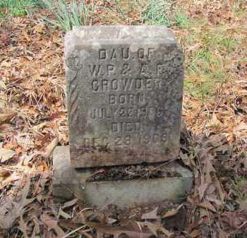 CROWDER, LAVADA - Dallas County, Arkansas | LAVADA CROWDER - Arkansas Gravestone Photos