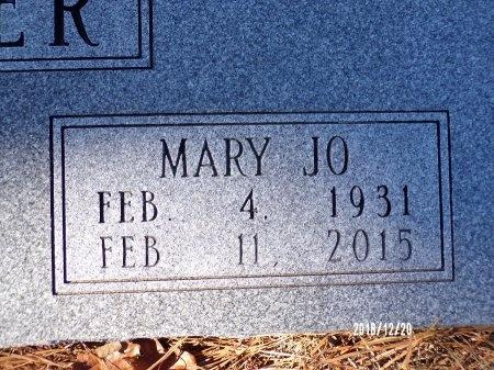 """CROWDER, MARY JOANNA """"JO"""" (CLOSE UP) - Dallas County, Arkansas   MARY JOANNA """"JO"""" (CLOSE UP) CROWDER - Arkansas Gravestone Photos"""