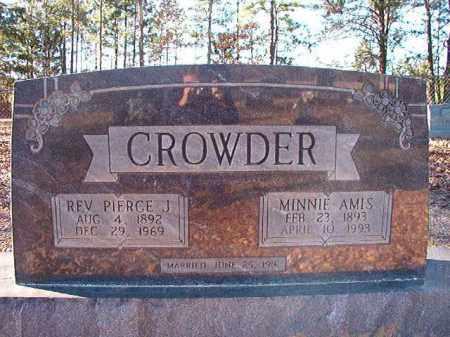 CROWDER, MINNIE - Dallas County, Arkansas | MINNIE CROWDER - Arkansas Gravestone Photos