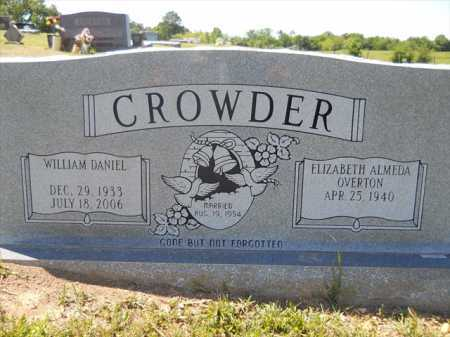 CROWDER, WILLIAM DANIEL - Dallas County, Arkansas | WILLIAM DANIEL CROWDER - Arkansas Gravestone Photos
