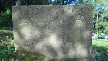 DELAMAR, A B - Dallas County, Arkansas | A B DELAMAR - Arkansas Gravestone Photos