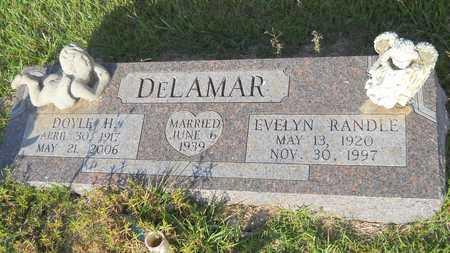 DELAMAR, EVELYN - Dallas County, Arkansas | EVELYN DELAMAR - Arkansas Gravestone Photos