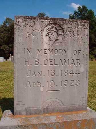 DELAMAR, H B - Dallas County, Arkansas   H B DELAMAR - Arkansas Gravestone Photos