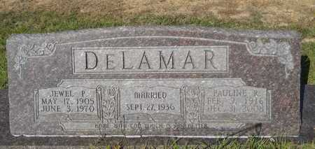 DELAMAR, JEWEL P - Dallas County, Arkansas | JEWEL P DELAMAR - Arkansas Gravestone Photos