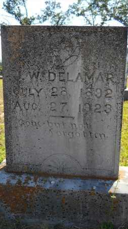 DELAMAR, J W - Dallas County, Arkansas   J W DELAMAR - Arkansas Gravestone Photos