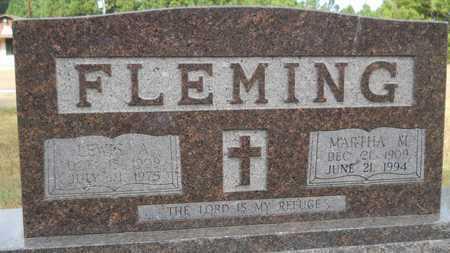 FLEMING, LEWIS A - Dallas County, Arkansas   LEWIS A FLEMING - Arkansas Gravestone Photos